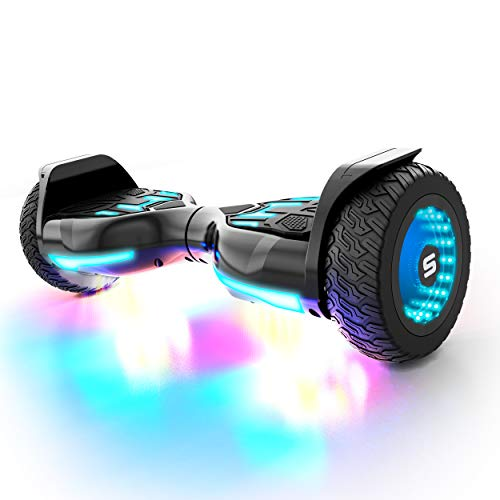 Swagtron SWAGBOARD Warrior XL Off-Road Bluetooth Hoverboard w/ 8-inch Infinity Wheels