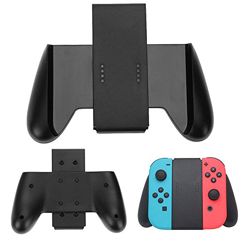 TUTUO Switch Joycon Soporte Joy-con Comfort Grip Negro