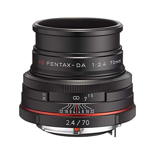 Pentax DA 70 mm F2.4 AL LTD HD - Objetivo para cámaras réflex Pentax Bayoneta K, Negro