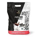 Vorteilspack mit 100 einzeln aromafrisch verpackten Pads Jedes Pad enthält 7,4 g Tchibo Arabica – für ein unvergleichliches Geschmackserlebnis schwarz oder mit Milch Schonende Langzeitröstung Ohne Säure Für alle Pad-Maschinen geeignet
