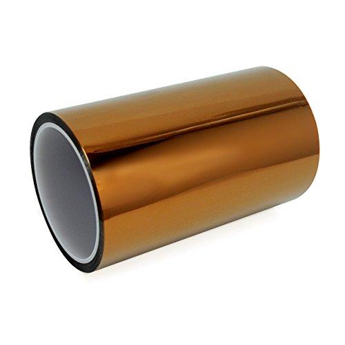 NuNus Polyimid Tape Hitzebeständig 0.06mm x 200mm x 33m für 3D Drucker (200mm)