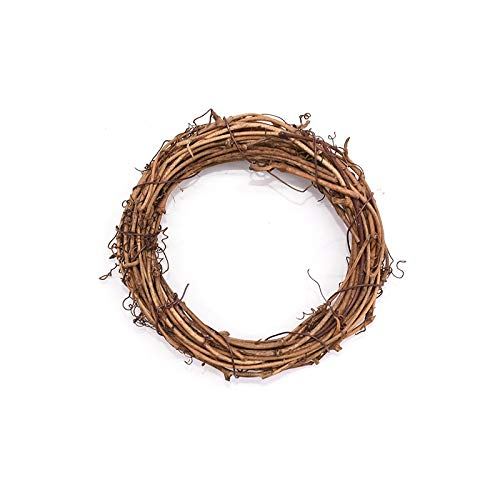 QWERTYU LifqiangME 1/3 stuks natuurlijke gedroogde bloemen rotan handwerk handwerk handwerk handwerk kroon kerstkrans bruiloft decoratie DIY knutselen stof slingers Crafts