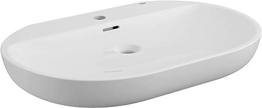 """GROHE 39669000 Essence Wall Mount 27"""" Bathroom Sink, 1-Hole, Alpine White"""