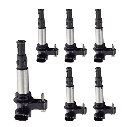 6 New ACDelco Ignition Coil Set Fits Cadillac Saab D501C UF375 Buick