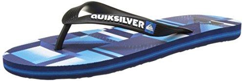 Quiksilver Herren MOLOKAICHECKREM Plateausandalen, Blau (Blue/Blue/Black), 37.5 EU