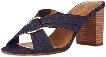 Aerosoles Women s HIGHWATER Heeled Sandal Denim Fabric 9 M US