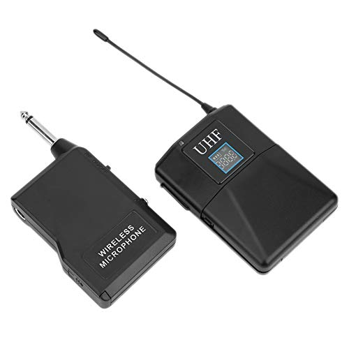 Micrófono antiinterferente inalámbrico Lavalier multifunción uno por uno, Altavoz de conversión de...