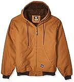 Berne Men's Heritage Hooded Jacket, Medium Regular, Brown Duck