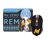 Re:ゼロから始める異世界生活 ライト付き マウス マウスパッド セット グッズ Re:ゼロ リゼロ Re レム ジャージ
