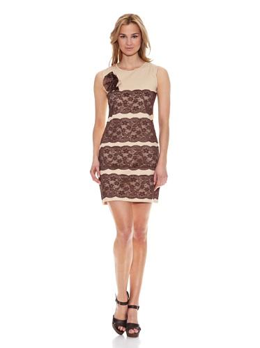 Almatrichi Vestido Beautiful Beige ES 36