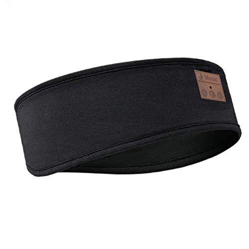 41USRonSdOL - Bluetooth Headband Sleep Headphones,SKYEOL Wireless Bluetooth Sleeping Headband with Mic Built-in Stereo Speakers for Sleeping, Sports, Air Travel, Meditation and Relaxation (Headband)