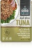 GOOD CATCH ATUN SABOR OLIVA Y HIERBAS VEGETAL 94g | Sin pescado |Vegano (Pack de 2)