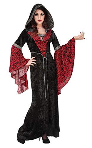 Women's Cryptisha Hooded Dress Costume
