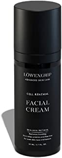 Löwengrip Advanced Skin Care Cell Renewal Facial Cream - Retinol, BHA, Hyaluronic Acid. Rehydrates. Targets Lines & Pores. Sweden's Fastest Growing Beauty Brand Mature & Sensitive Skin - 50 ml