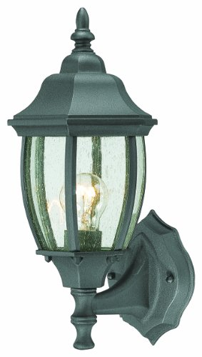 Thomas Lighting SL92237 Covington Outdoor Wall Lantern, Black