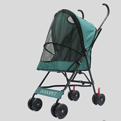 MRXUE Lichtgewicht huisdier kinderwagen hond kat Trolley Grootte: 40 * 29 * 53Cm (lengte * breedte * hoogte)