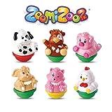 VTech - ZoomiZooz - Coffret 6 animaux Ferme - Animaux à collectionner - Version FR
