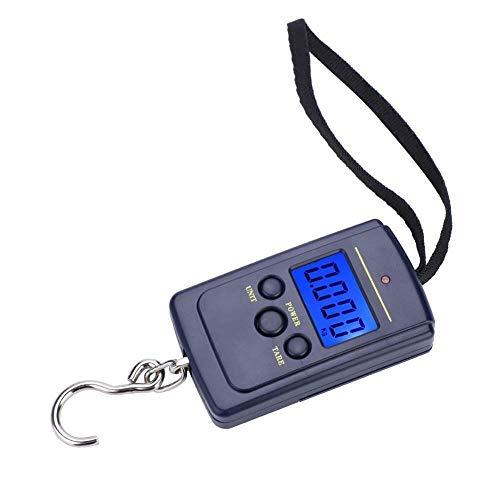 Utoolmart - Báscula digital portátil de plástico ABS, 5000 g, para colgar equipaje, pesas, báscula de mano para venta al por menor, 1 unidad