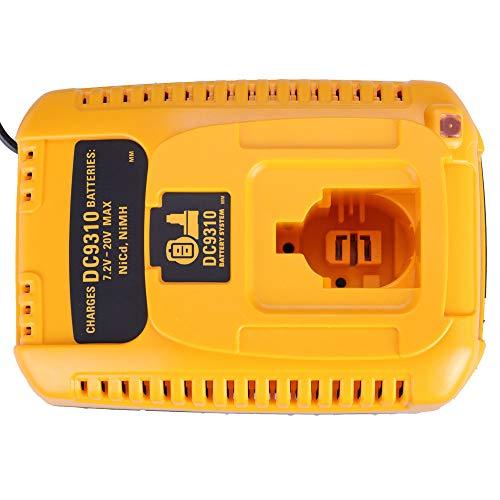 Per Dewalt 7,2 V - 18V Caricabatterie NI-CD NI-MH da per DC9310 Accessorio per utensile elettrico da trapano DE9330 DW9116 DE9130