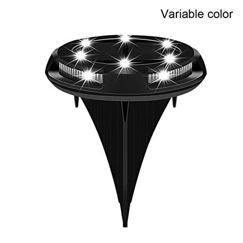 goodluccoy Garden Pathway Solar Ground Lights 10 Pcs LED Waterproof Floor Lamp for Outdoor