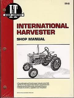 INTERNATIONAL HARVESTER I&T TRACTOR SHOP MANUAL A, AV, B, BN,C,H,M, NEW IH-8