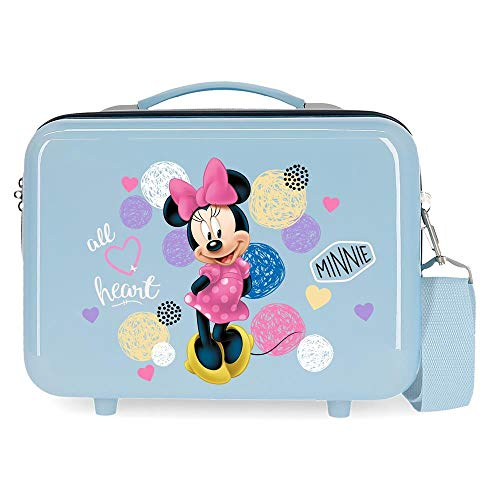 Disney Love Minnie Trousse de toilette adaptable Bleu 29x21x15 cms ABS