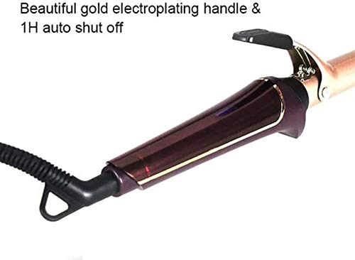 Professional Hair Curler LCD Display Ceramic Waves Hair Electric Digital krultang Silk Hair Cone Curling Wand 13-25Mm