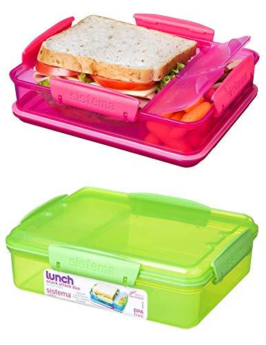 Sistema 9414202214829 lunchbox, 2.3 L, Sortiert