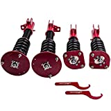 Coilovers Struts with Non-Adjustable Damper for Chrysler Neon 2000-2005, for Dodge Neon SRT-4 2003-2005 - Red
