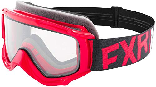 FXR Throttle Youth Snow Goggles Red/Black/