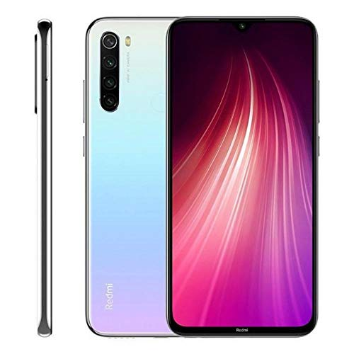 CELULAR smartphone XIAOMI REDMI NOTE 8 DUAL 128GB MOONLIGHT WHITE