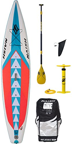 Naish 2018 One ALANA SUP Inflatable Stand Up Paddle Board 12'6' inc PADDLE, BAG & PUMP