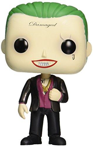 Funko - Figurine DC Heroes Suicide Squad - Joker In Suit Exclu Pop 10cm - 0849803086619