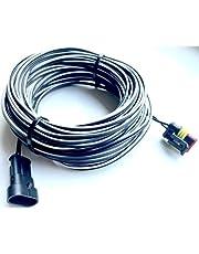Timbera Laagspanningskabel voor GARDENA SILENO R100 R130 R160; Minimo 250 500; Life 750 100 1250; City 250 500 1000 – aansluitdraad voor transformatorvoeding adapter en laadstation (20 meter)