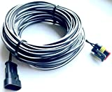 Timbera Robótico Cortacésped Fuente de alimentación Cable de Baja tensión para la estación de Carga para McCulloch Rob S400 S500 S600 & Rob R600 R800 R1000 – (20 Metros)
