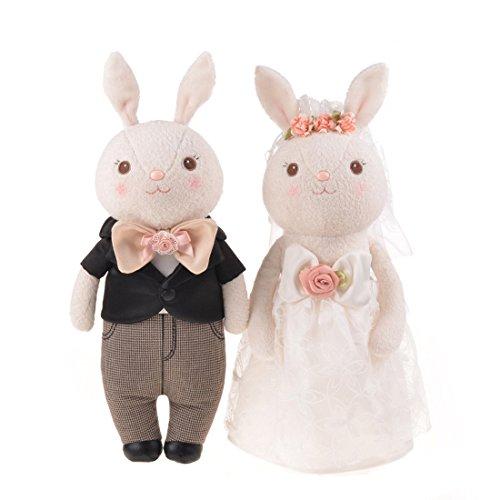 Good Night Vestido de Novia de los Amantes del Conejo de