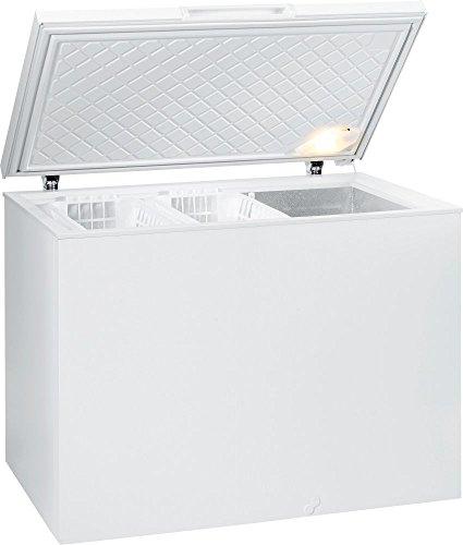 Dehner FH331IW Gefriertruhe 307L A+ weiß - (Bügel, 307 L, 19 kg/24h, SN-T, A+, weiß)