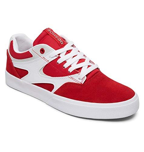 DC Shoes Kalis Vulc - Leather Shoes - Lederschuhe - Männer - EU 40 - Rot