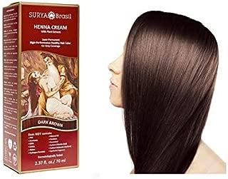 Surya Brasil Products Henna Cream, Dark Brown, 2.37 Fluid Ounce