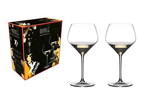 [正規品]RIEDELリーデル白ワイングラスペアセットエクストリームオークド・シャルドネ670ml4441/97