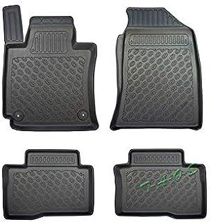II Alfombrilla de suelo de goma 3D exclusiva compatible con SsangYong REXTON I 2002-2012 J/&J Automotive