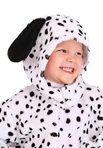 Toddler Dalmatian Costume Spotted Puppy Dog Onesie for Kids 4T