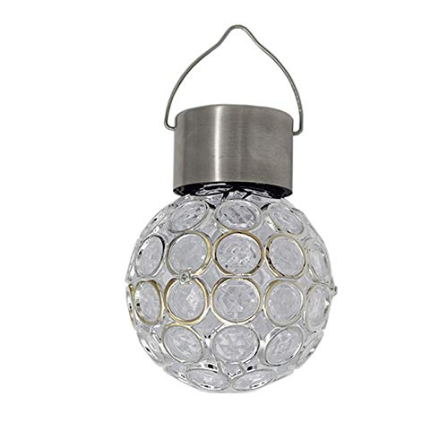 Verlichting voor paden, buitenverlichting, buitendecoratie, hanglamp, op zonne-energie, voor buiten, waterdicht, om op te hangen in het licht van de verlichting, hol, gazon, tuin.