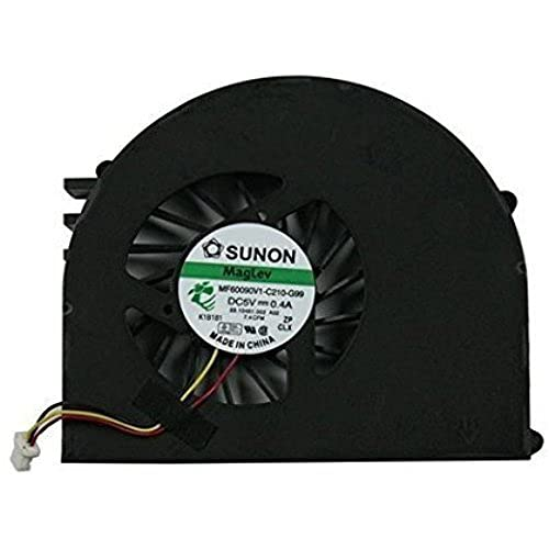 wangch Reemplazo genérico Nuevo Ventilador Enfriador de CPU para computadora portátil para DELL para la Serie Inspiron N5110 M5110 M511R, MF60090V1-C210-G99 DFS501105FQ0T FA80 23.10461.002 A02 K5419L