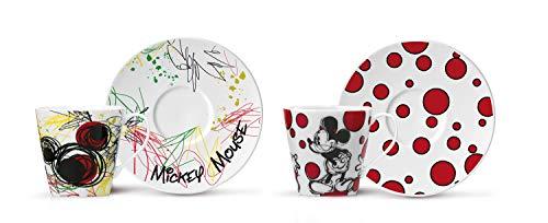 Profino Espressotasse Mit Teller Mickey Mouse2Er Set [A]