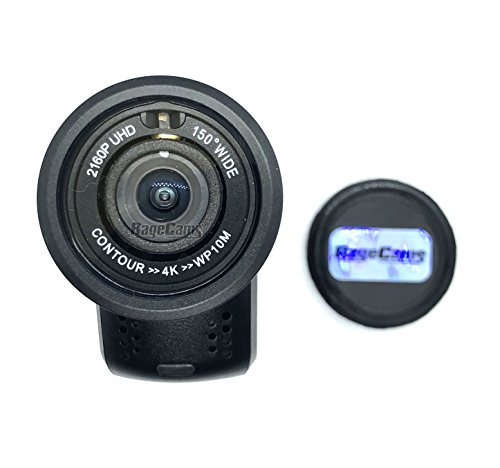CONTOUR4K HD Camera 4K Action Camera Waterproof Helmet CAM RAGECAMS MOD (25mm Narrow, Day)