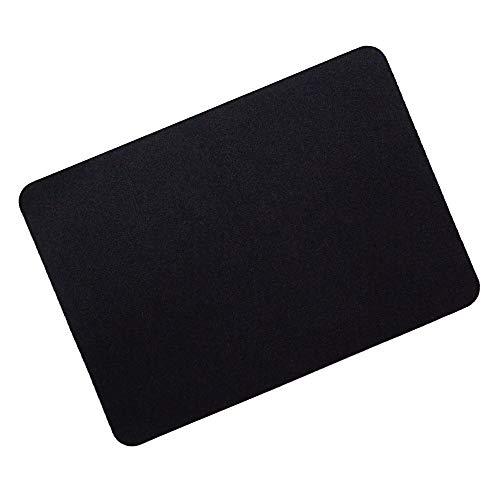 GOMIN Mauspad - 28 x 20 cm Gaming Mauspad rutschfest - nahtlose Kanten - verbessert Geschwindigkeit und Präzision, Schreibtischunterlage ideal für PC, Laptop, Homeoffice und Büro - Mousepad schwarz