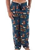 Lazy One Pajama Pants for Men, Men's Separate Bottoms, Lounge Pants, Animal, Beaver, Dam (I'm Sleeping Dammit, Large)