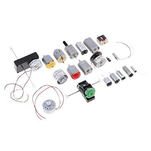 B Blesiya 1 Set Zahnrad Zahnstangen Antriebsrädchen Zahnräder für Modellbau - 20pcs/Set