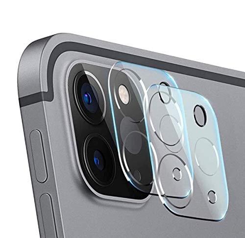 【2枚入り】iPad Pro 11/iPad Pro 12.9 2020 カメラフィルム Aerku iPad Pro 2020 インチ カメラ レンズ保護フィルム 強化ガラスフィルム 3D全面保護フィルム 凹面設計 一体ガラス 硬度9H 日本製素材旭硝子製 防塵液晶保護 指紋防止 iPad Pro 2020 レンズ フィルム (一体型)